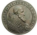 obverse:  Paolo III (1534-1549), Alessandro Farnese Medaglia A. XVI, raffigurazione allegorica di Ganimede.