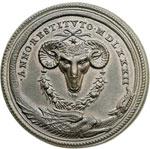 reverse:  Gregorio XIII (1572-1585), Ugo Boncompagni Medaglia 1582, per commemorare l introduzione del calendario gregoriano.