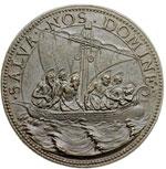 reverse:  Clemente VIII (1592-1605), Ippolito Aldobrandini  Medaglia A. XII, invocazione di pace contro le nuove minacce dei turchi.