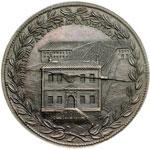 reverse:  Urbano VIII (1623-1644) Maffeo Barberini Medaglia, A. XIX per i nuovi edifici dell annona.