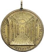 reverse:  Innocenzo X (1644-1655) Giovanni Battista Pamphili Medaglia annuale A. IV