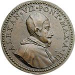obverse:  Alessandro VII (1655-1667), Fabio Chigi Medaglia A. III.