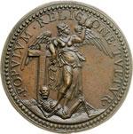 reverse:  Alessandro VII (1655-1667), Fabio Chigi Medaglia A. III.