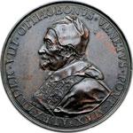 obverse:  Alessandro VIII (1689-1691), Pietro Vito Ottoboni  Medaglia 1700 per il monumento funebre