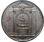 reverse:  Alessandro VIII (1689-1691), Pietro Vito Ottoboni  Medaglia 1700 per il monumento funebre
