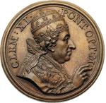 obverse:  Clemente XI (1700-1721), Giovanni Francesco Albani Medaglia 1702