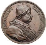 obverse:  Innocenzo XIII (1721-1724), Michelangelo dei Conti Medaglia 1721