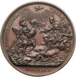 reverse:  Innocenzo XIII (1721-1724), Michelangelo dei Conti Medaglia 1721