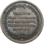 reverse:  Clemente XIII (1758-1769) , Carlo Rezzonico Medaglia 1762 per la scoperta dei giacimenti minerari di Polino Castello.