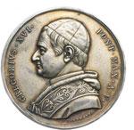 obverse:  Gregorio XVI (1831-1846), Mauro Cappellari  Medaglia A. V premio dell Università di Roma.