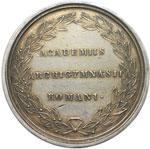 reverse:  Gregorio XVI (1831-1846), Mauro Cappellari  Medaglia A. V premio dell Università di Roma.