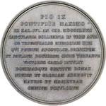 reverse:  Pio IX  (1846-1878), Giovanni Mastai Ferretti Medaglia per il 18° centenario del martirio dei SS. Pietro e Paolo, 29 giugno 1867.