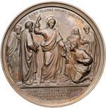 reverse:  Pio IX  (1846-1878), Giovanni Mastai Ferretti Medaglia A. XXIV per il XX Concilio Ecumenico, 8 dicembre 1869.