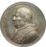 obverse:  Pio IX  (1846-1878), Giovanni Mastai Ferretti Medaglia A. XXXII, 29 giugno 1877.