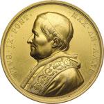 obverse:  Pio IX  (1846-1878), Giovanni Mastai Ferretti Medaglia commemorativa.