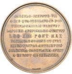 reverse:  Leone XIII (1878-1903), Gioacchino Pecci Medaglia 1880 per il 7° centenario dall inizio della costruzione del Duomo di Orvieto, 1880.