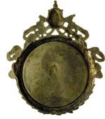 reverse:  Leone XIII (1878-1903), Gioacchino Pecci Placchetta