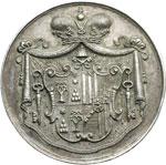 obverse:  Sede Vacante 1903 (20 luglio - 4 agosto) Medaglia emessa dal Maresciallo del Conclave Principe Mario Chigi.