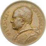 obverse:  Pio XI (1922-1939), Achille Ratti Medaglia