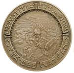 obverse:  Pio XI (1922-1939), Achille Ratti Medaglia per il concordato tra l Italia e la Santa Sede 11 febbraio 1929.