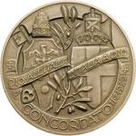 reverse:  Pio XI (1922-1939), Achille Ratti Medaglia per il concordato tra l Italia e la Santa Sede 11 febbraio 1929.