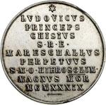 reverse:  Sede Vacante 1939 (10 febbraio- 2 marzo) Medaglia emessa dal Maresciallo del Conclave Principe Ludovico Chigi.