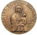 reverse:  Pio XII (1938-1959), Eugenio Pacelli. Medaglia, 2 aprile 1949 per il 50° anniversario dell ordinazione sacerdotale.