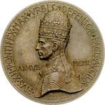 obverse:  Pio XII (1939-1958), Eugenio Pacelli Medaglia celebrativa, 1950.
