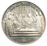 reverse:  Giovanni XXIII (1958-1963), Angelo Roncalli Medaglia annuale A. II, per la consacrazione dei Vescovi missionari.