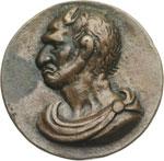 obverse:  Due Satiri Medaglia di scuola veneziana circa 1550.