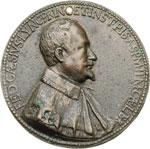 obverse:  Federico Cesi (1585-1630), Scienziato fondatore accademia dei Lincei Medaglia