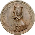 obverse:  Michelangelo Tamburini (1648-1730), Generale dei Gesuiti dal 1706 al 1730. Medaglia 1706