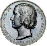 obverse:  Charles Forbes René, comte de Montalembert (1810-1870) Medaglia per la costituzione di un partito politico cattolico.