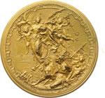 reverse:  Cristoforo Colombo Medaglia 1892, 4° centenario della scoperta dell America.