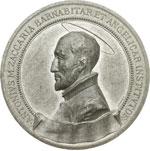 obverse:   Medaglia 1897, per la canonizzazione sotto Leone XIII di S. Antonio Maria Zaccaria, fondatore dell ordine dei Barnabiti a Milano.