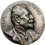 obverse:  Francesco Tamagno (1850-1905), Tenore Medaglia unifacie.