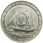 reverse:  Spedizioni Polari Salomon Andrée (1854-1897) e Fridthiof Nansen (1861-1930). Medaglia commemorativa per la spedizione al Polo Nord di Salomon August Andrée con un pallone aereostatico e di Fridthiof Nansen, che salpò da Krisiania (Oslo) a bordo della nave Fran.