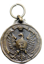 obverse:  Roma Medaglia 1933 dell associazione Arma di Cavalleria gruppo regionale Lazio.