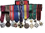 obverse:   Lotto di 10 medaglie mignon tra cui: fronte russo, annessione di Fiume 12 settembre 1919 (Gabriele d Annunzio), Repubblica italiana per i volontari di guerra, Guerra 1940-43,