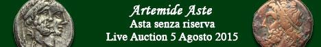 Banner Artemide  - Asta senza riserva #7