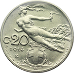 Reverse image of coin 80