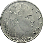 Reverse image of coin 92