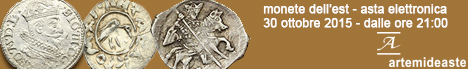Banner Artemide - Coins from the East