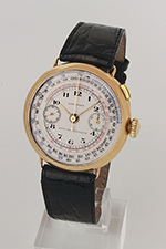 obverse: LONGINES chronograph extra size, around 1932.