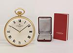obverse: VACHERON & CONSTANTIN Genève, 1972. Pocket watch, round case in 18K yellow gold