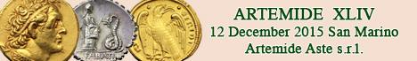 Banner Artemide - Monete e Medaglie XLIV
