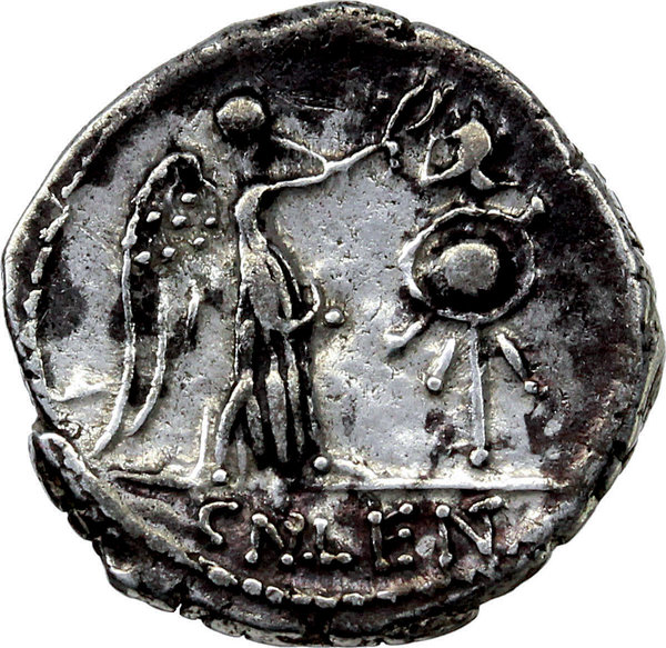 Reverse image of coin 124