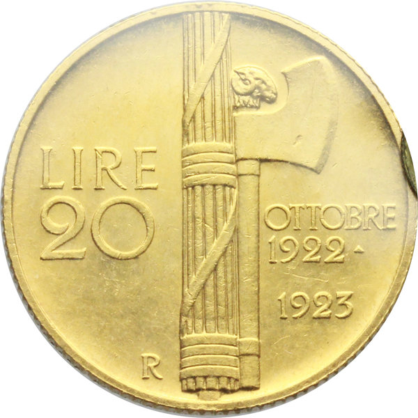 Reverse image of coin 611