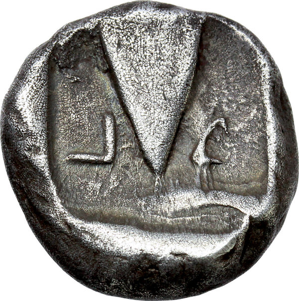 Reverse image of coin 68