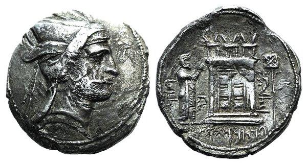 obverse: Kings of Persis, Bagadat (Bayadad, early-mid 3rd century BC). AR Tetradrachm